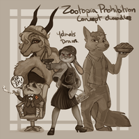 Zootopia Comic Concept Doodles by yelnatsdraws