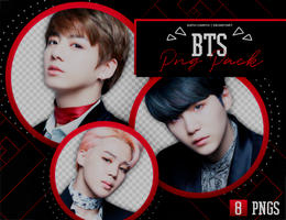 PNG PACK: BTS #2 by Hallyumi