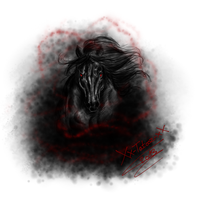 Black Horse by Xx-tatooz-xX