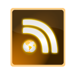 RSS earth  icon v 2. by FreakDr
