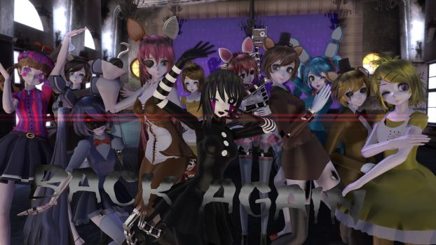 MMD Five Nights At Meiko's - Back Again by Torchic73