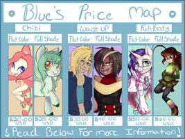 Bluebie's 2017 Price Map by BlueKazenate