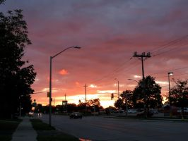 August 22nd Sunset by Michies-Photographyy