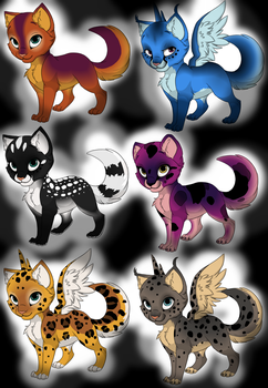 Free Kittens (OPEN 3/6) by Heimdall-PLZ