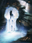 The Moon Tears Cave by areot