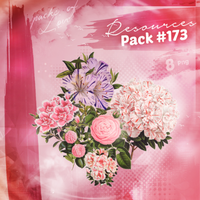 Flowers PNG Pack by melismerve22