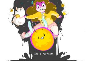 Bee--Puppycat by YourPersonalMenace