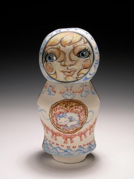 Two Face doll jar side 1 by trickypink