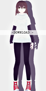 [MMD] DOWNLOAD MC and MC 4  OPEN by Eilloness