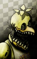 Withered Chica (FNAF 2) by Anchortoon
