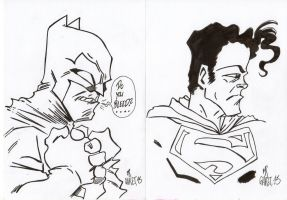 Batman V Superman by jacksony22
