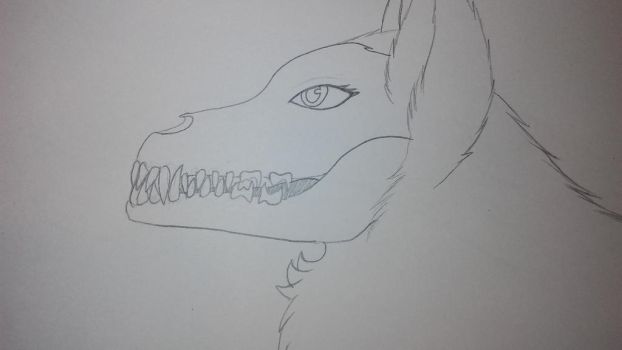 K-9 teeth practice by Sexy-Slender-Dragon