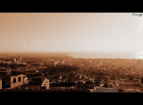 Thessaloniki view by Siakeeroff