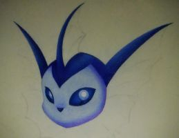 WIP-Vaporeon by Blue-Scribble
