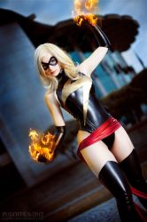 Ms Marvel cosplay II by EnjiNight