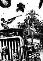 MAD MAX: FURY ROAD by Imbrattacarte
