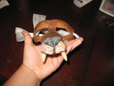 Wolf mask by RNuclearCookies