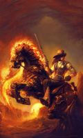 Knight of the New World by brass-and-steam