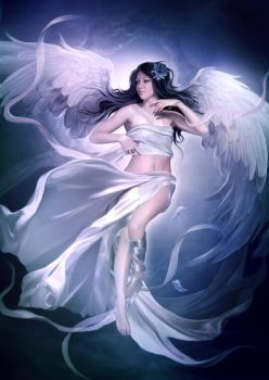 White angel by ElenaDudina