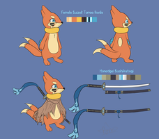 Tomoe Ikeda Ref for Nestman by RymNotrim