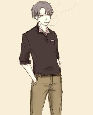 Clumsy~*~ Manager!Levi x Waitress!Reader AU by Mikittykun on DeviantArt