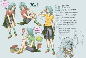 Rael Reference Sheet by DiePestArzt