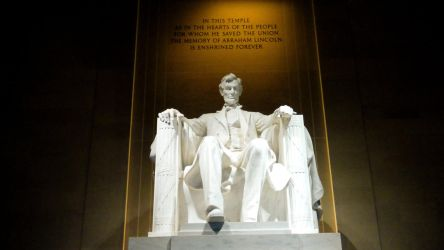 President Lincoln at the Helm by LordNobleheart
