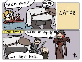 Dragon Age: Inquisition, doodles 26 by Ayej