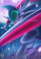 THE DARK KNIGHT - MEGA GALLADE