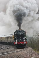 5043 Earl of Mount Edgcumbe at Whiteball by bigben5051