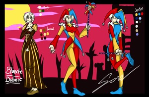The Jester known as Blanche Dubois by LoverBoySora