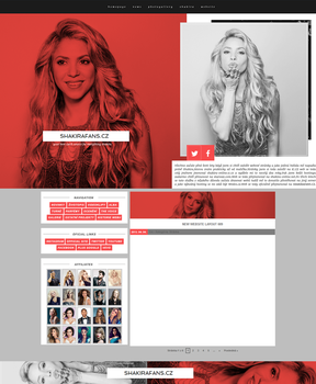 SHAKIRAFANS.CZ | Ordered Wordpress Theme by lenkamason