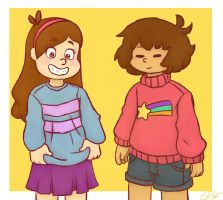 Sweater Pals by tsuguminot