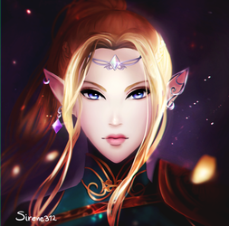 Zelda redesign by sirene312