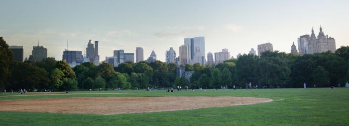Great Lawn Panorama by flarakoo