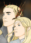 Mirkwood Royalty by Mibu-no-ookami
