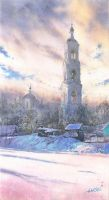 Winter tower by GreeGW