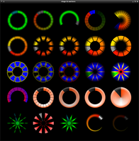 Rings And Sectors Conky 1.1 by wlourf