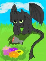 Toothless~ by spica27