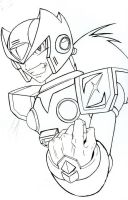 zero: maverick_lineart by Silent-Neutral