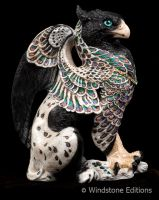 White Noise the griffin by Reptangle