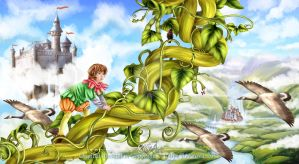 Jack and the Beanstalk by LilyT-Art