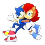 Sonic n' Sally by ModernLixes