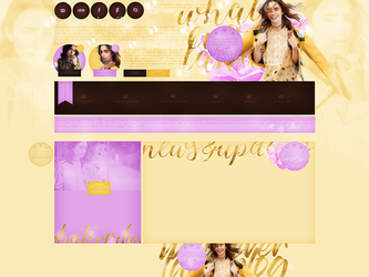WL design with Lily Collins by terushdesigns