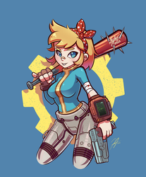 Vault Girl by Jp-files