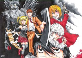 Death Note Coloration by nessi6688