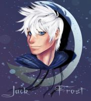 Doodle: Jack Frost by reikohattori