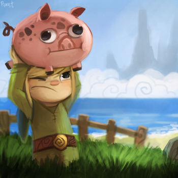 DAY 187. Wind Waker (25 Minutes) by Cryptid-Creations