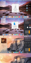 OSX Yosemite transformation complete for Windows by PeterRollar