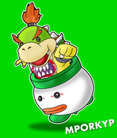 Bowser Jr. by mporkyp